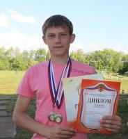 Иван Бахтин – победитель областных спартакиады…