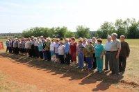 Более 60 ветеранов – активистов «зажгли» стадион